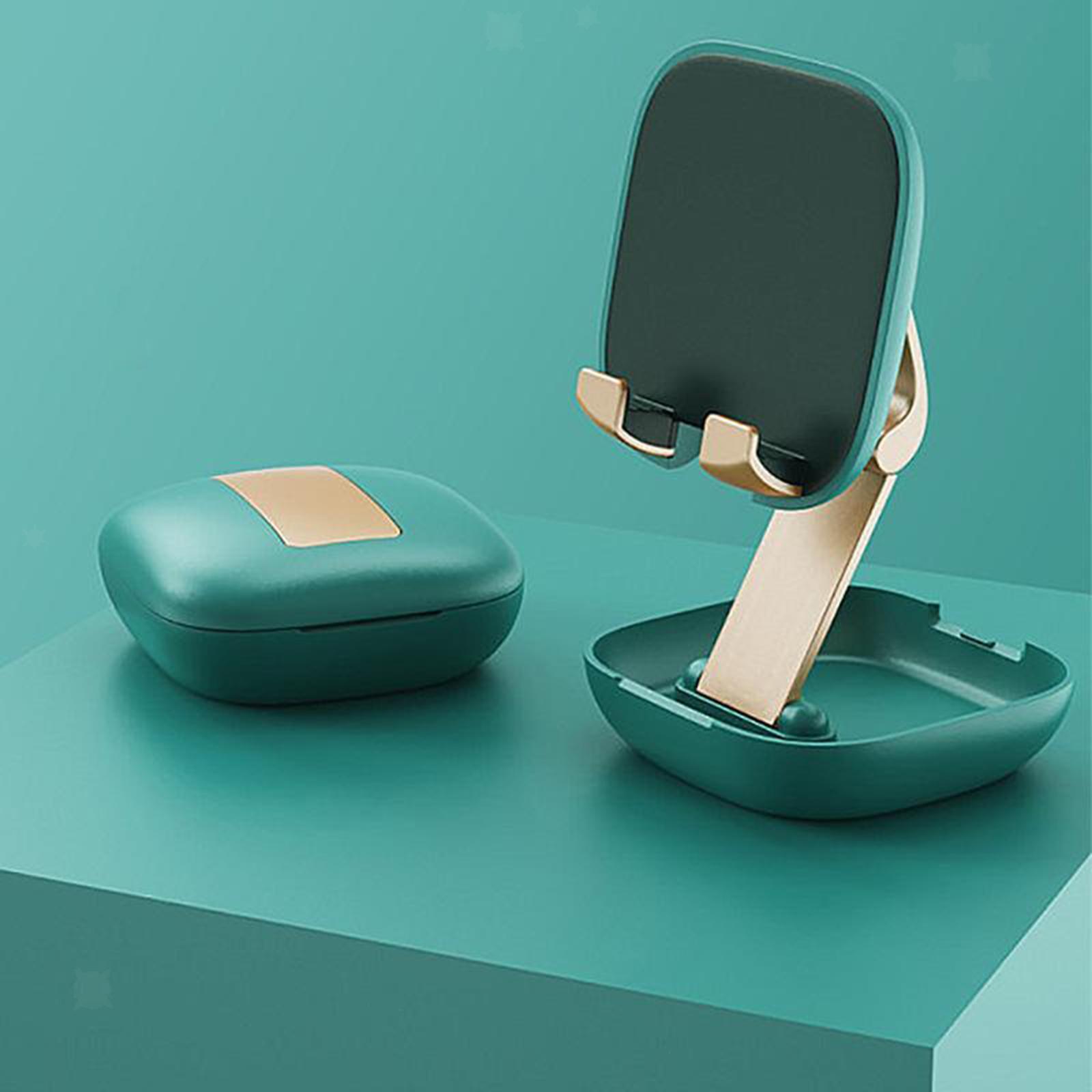 Reglable-Pliant-Mobile-Telephone-De-Bureau-Bureau-Tablet-Stand-Support-de-por miniature 14