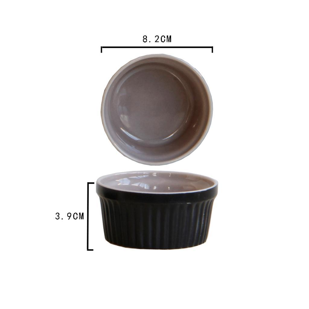 Ceramic Porcelain Baking Dish Oven Safe Ramekin Dessert Souffle Baking Dish  eBay