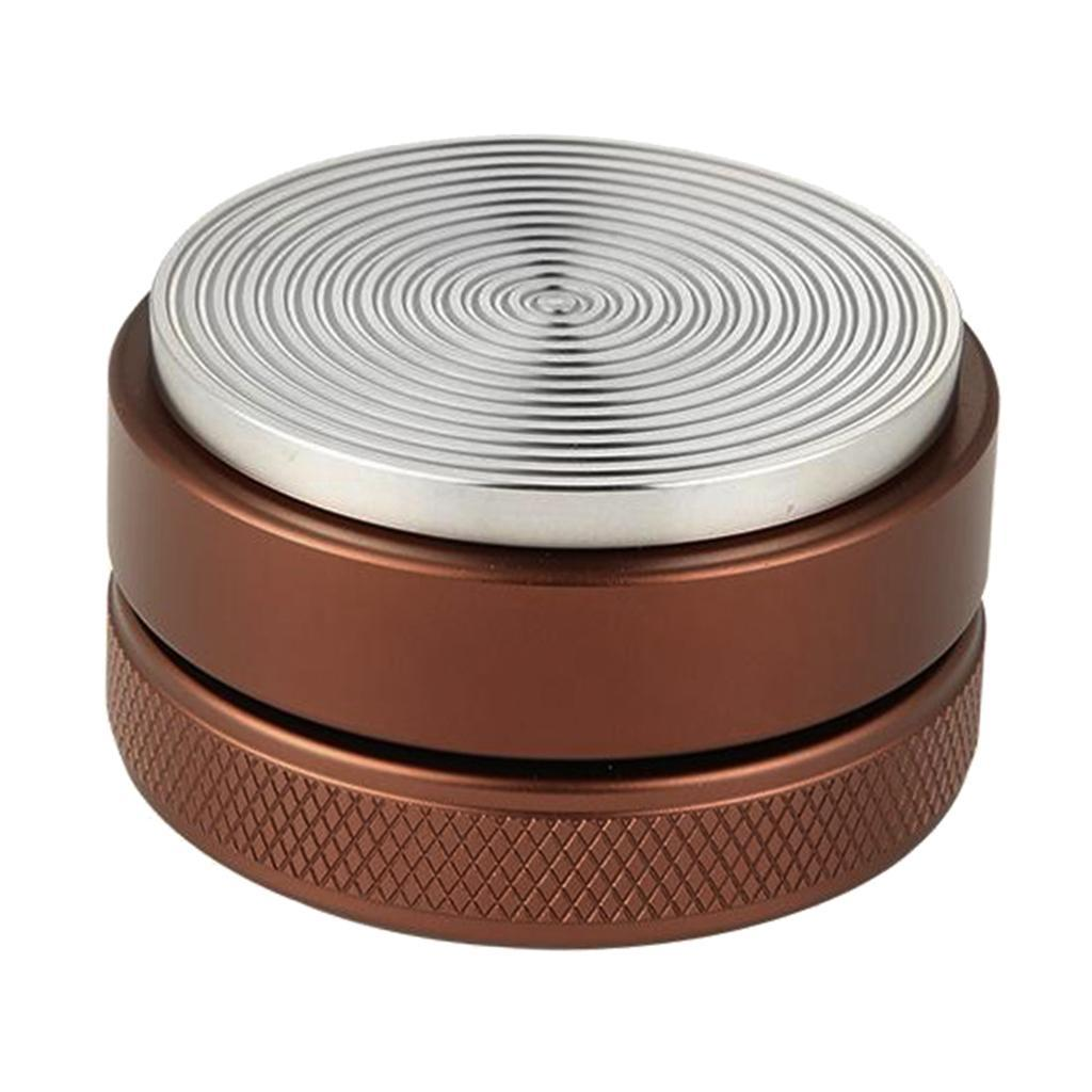 51mm Adjust Espresso Powder Hammer Convex Distributor Leveler Coffee Tamper Tool