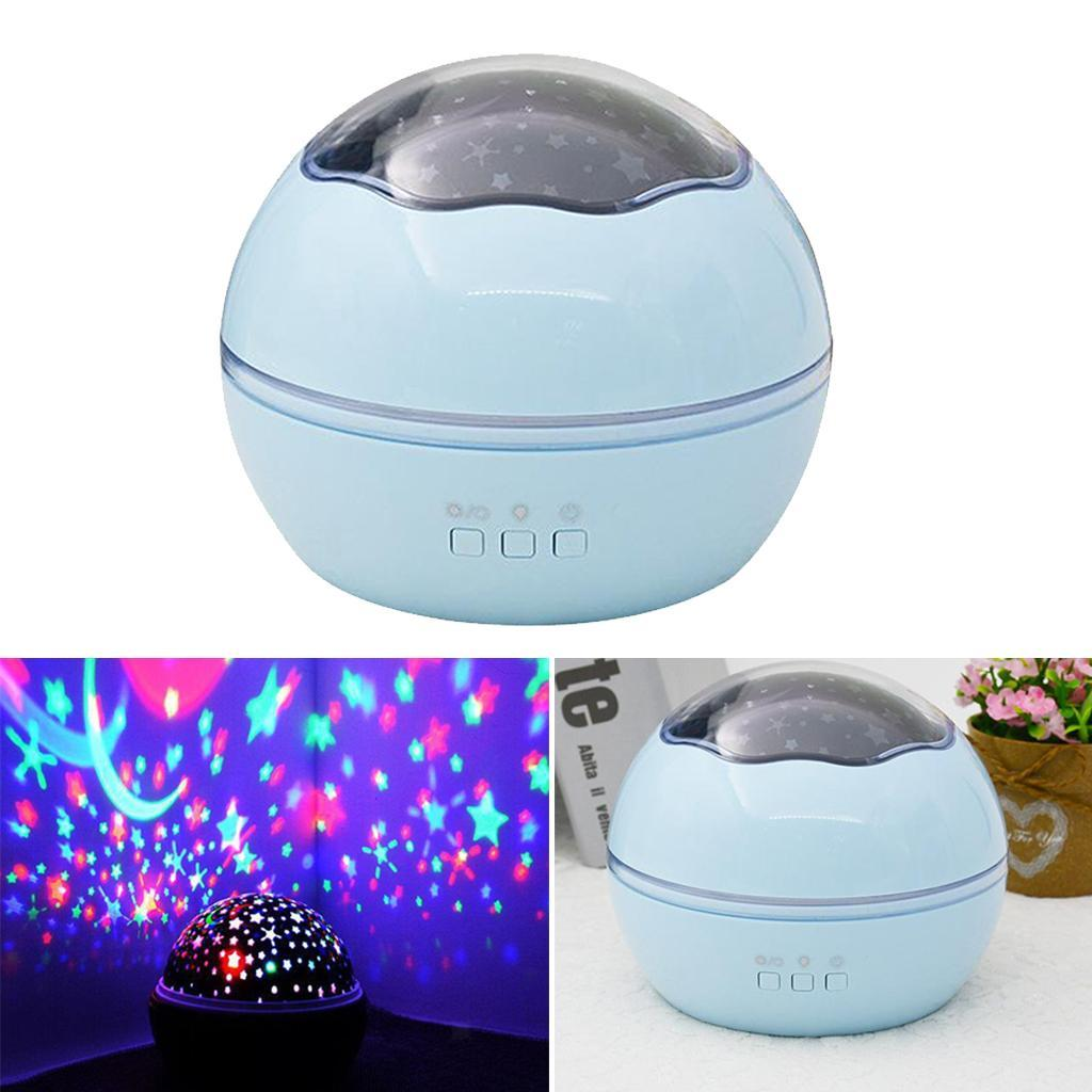Children Bedroom Star Night Lights Moon Light Kids Gift ...