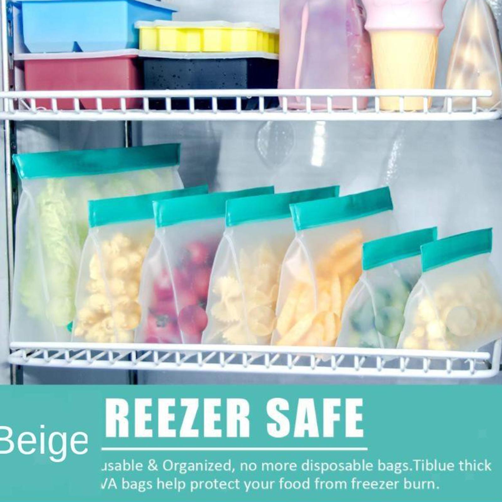 3-pezzi-di-Cibo-Sacchetto-di-Immagazzinaggio-Fresco-PEVA-Carne-Frutta-BPA-Libero miniatura 21