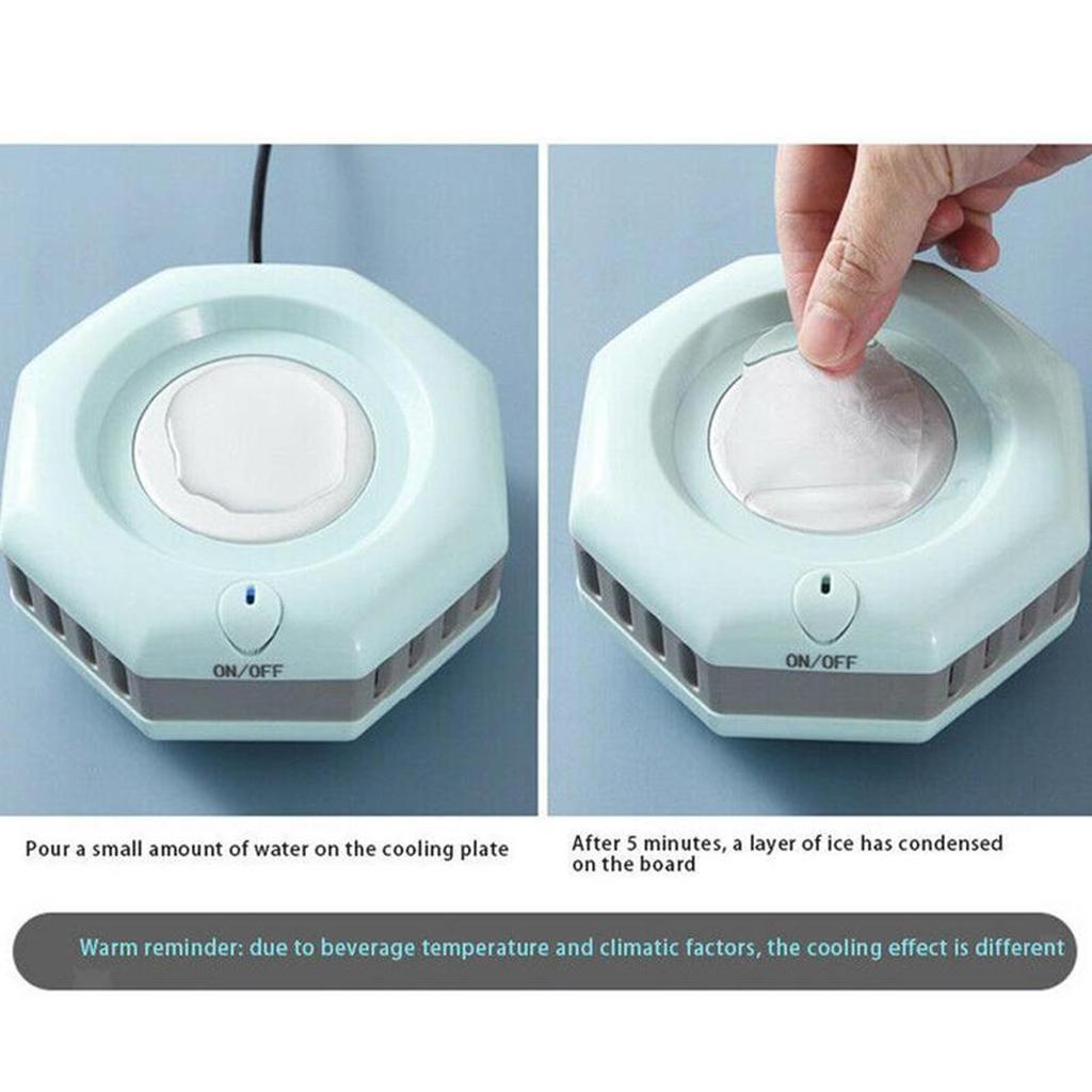 miniatura 28 - Mini Elettrica Macchina Per Macchina del Ghiaccio Mini Frigo per il Latte di