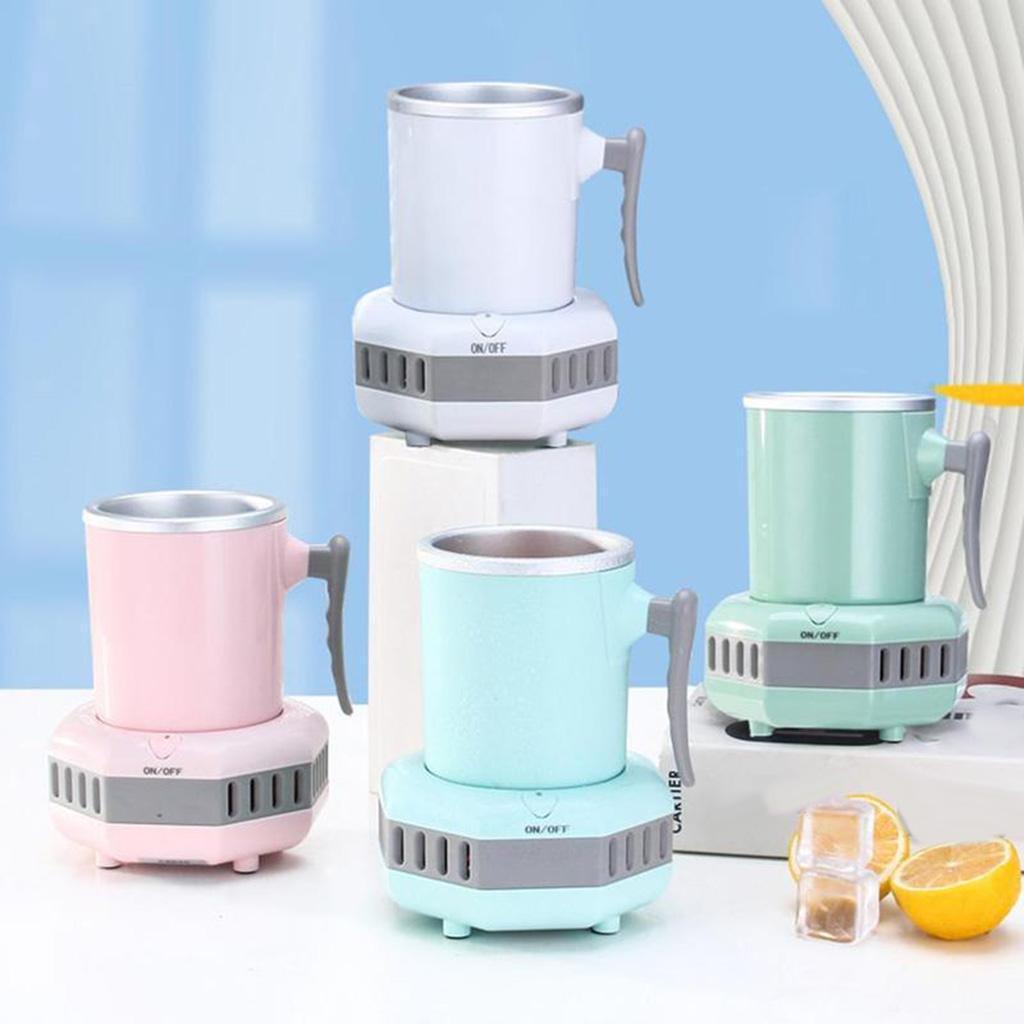 miniatura 30 - Mini Elettrica Macchina Per Macchina del Ghiaccio Mini Frigo per il Latte di