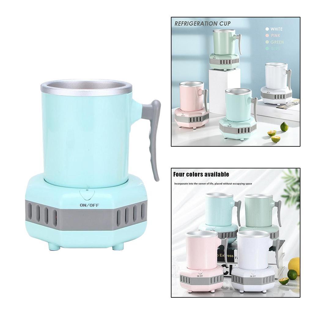 miniatura 33 - Mini Elettrica Macchina Per Macchina del Ghiaccio Mini Frigo per il Latte di