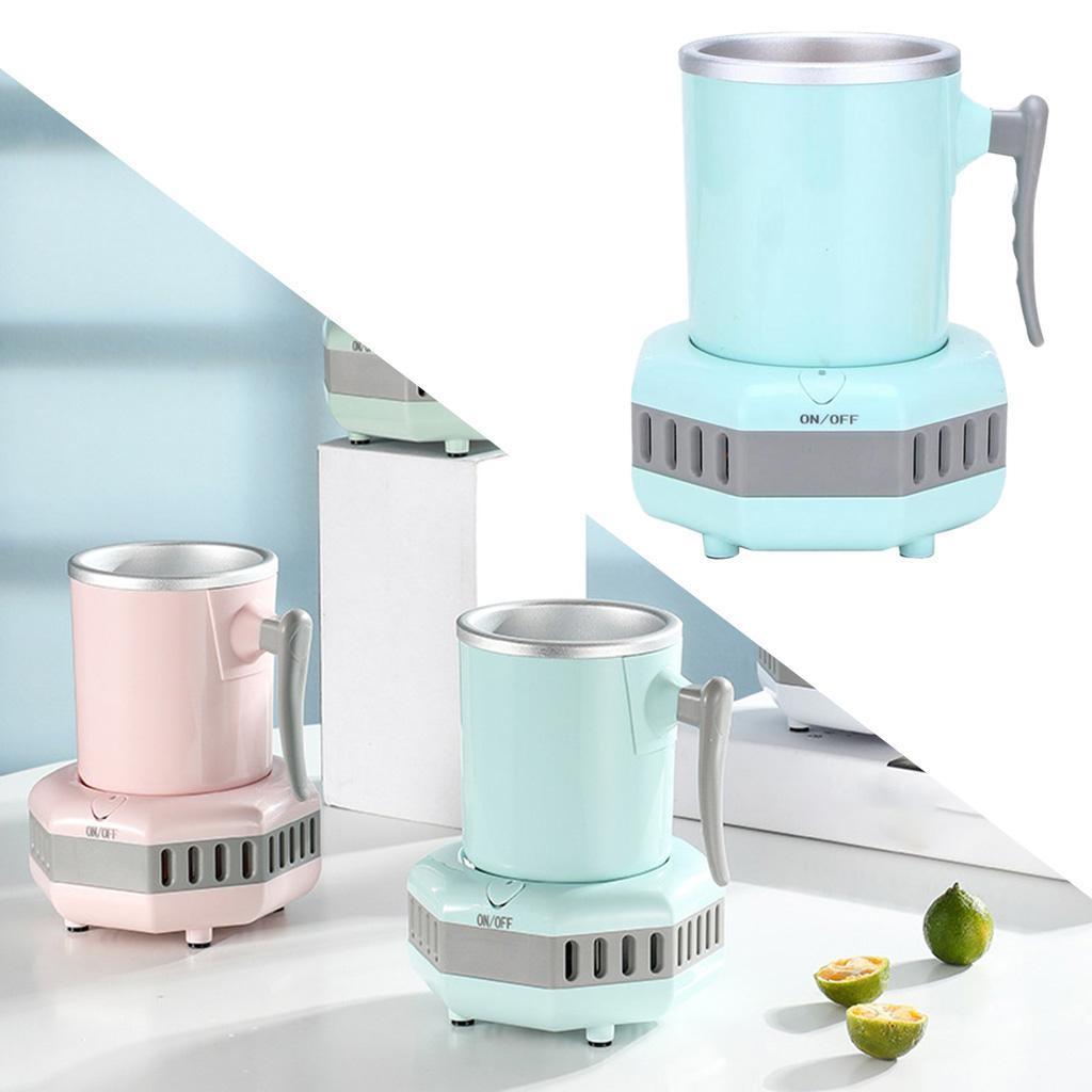 miniatura 32 - Mini Elettrica Macchina Per Macchina del Ghiaccio Mini Frigo per il Latte di