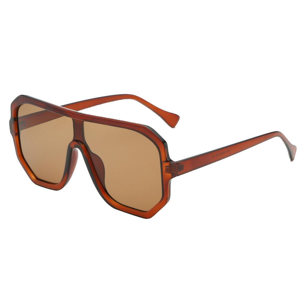 Frauen-Herren-Vintage-Style-Rechteck-Sonnenbrille-UV400-Flat-Top-Fashion Indexbild 27