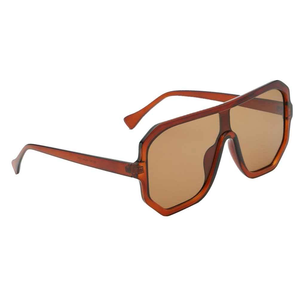 Frauen-Herren-Vintage-Style-Rechteck-Sonnenbrille-UV400-Flat-Top-Fashion Indexbild 29