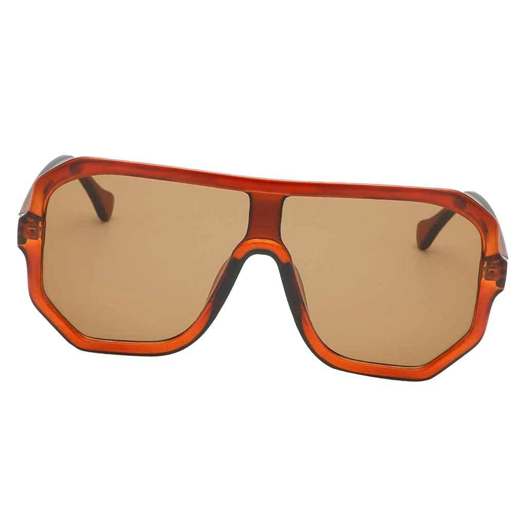 Frauen-Herren-Vintage-Style-Rechteck-Sonnenbrille-UV400-Flat-Top-Fashion Indexbild 30