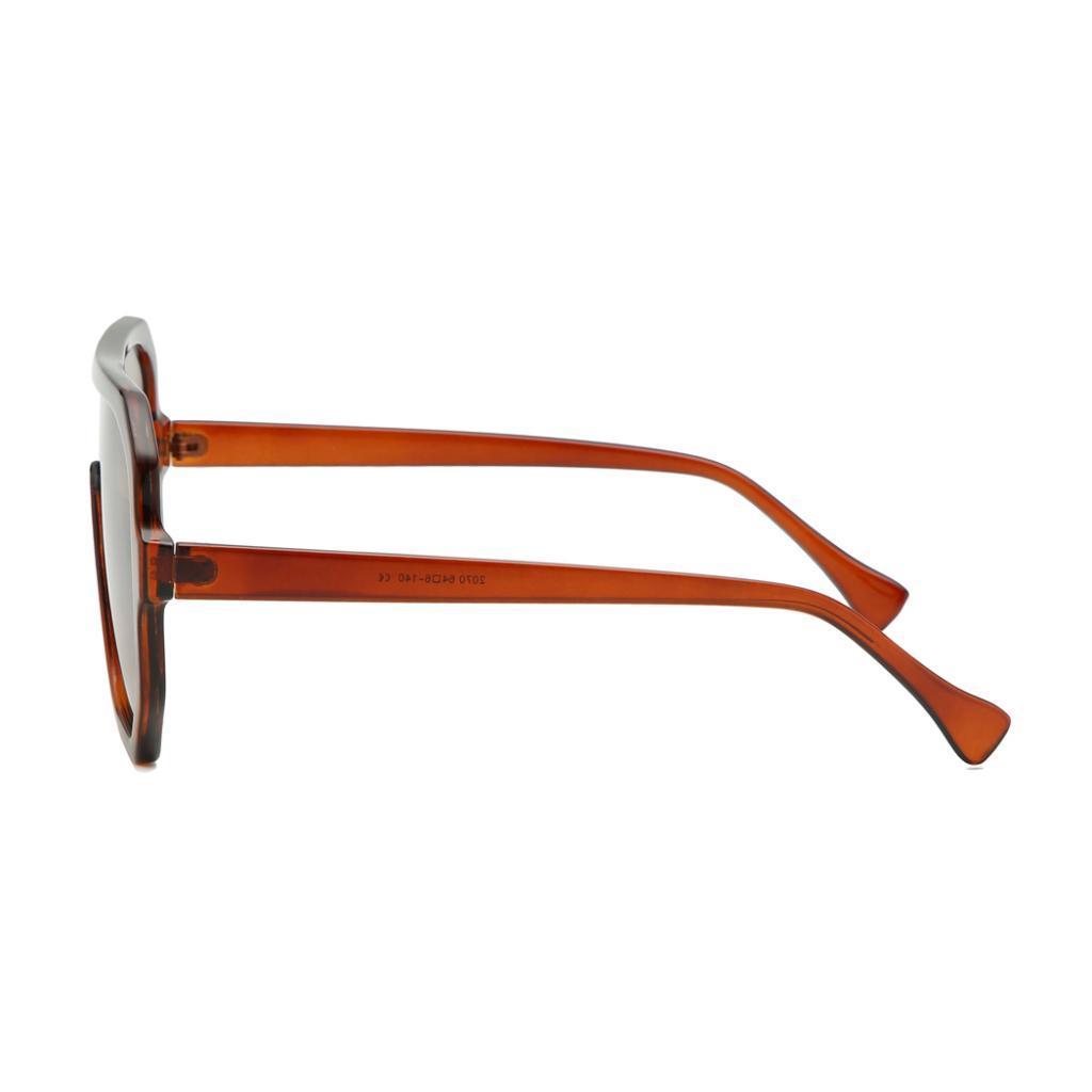 Frauen-Herren-Vintage-Style-Rechteck-Sonnenbrille-UV400-Flat-Top-Fashion Indexbild 31