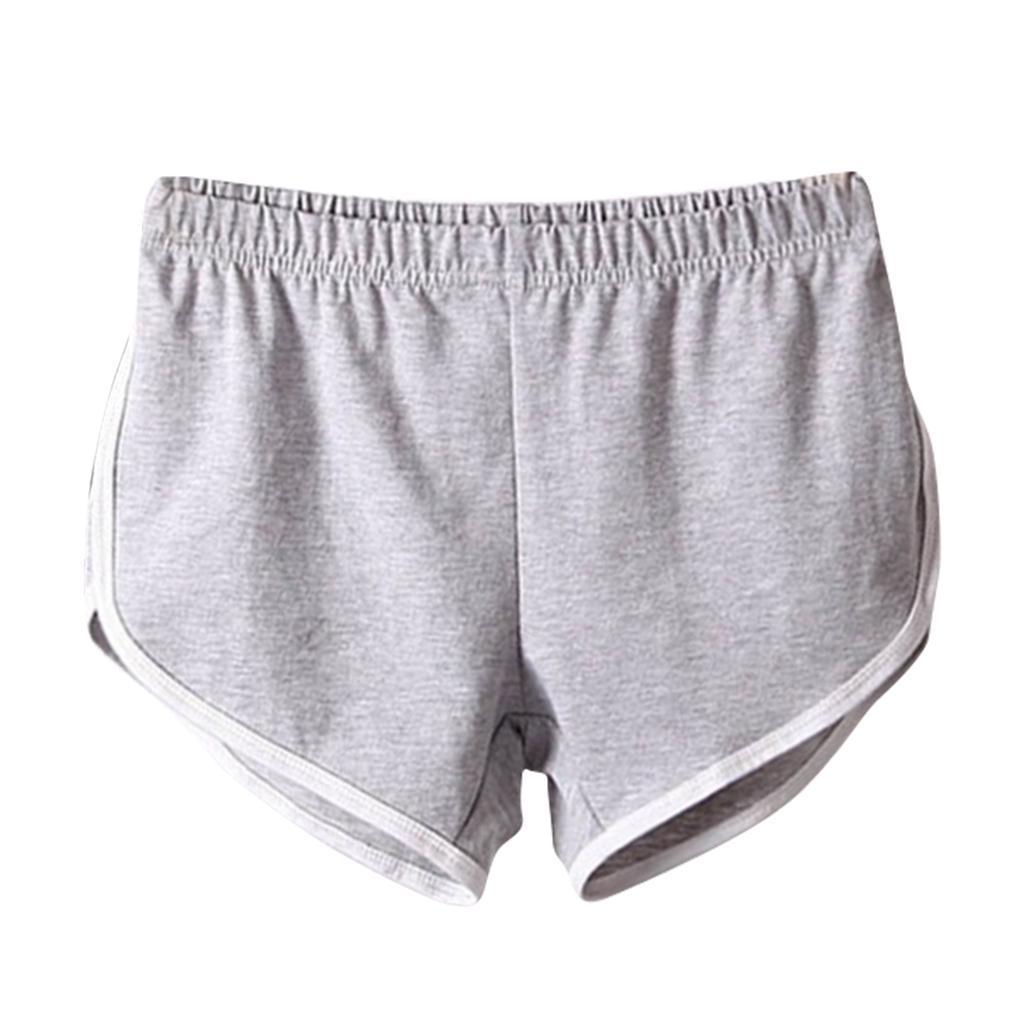 Shorts-de-sport-en-soie-de-lait-pour-femmes-Yoga-Dance-Pantalons-courts-Shorts miniature 6