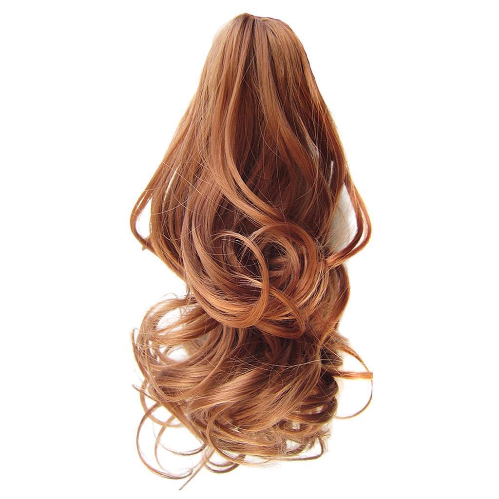 Queue-de-Cheval-Extension-Extension-avec-Pince-Rajout-Cheveux-Diverses miniature 22