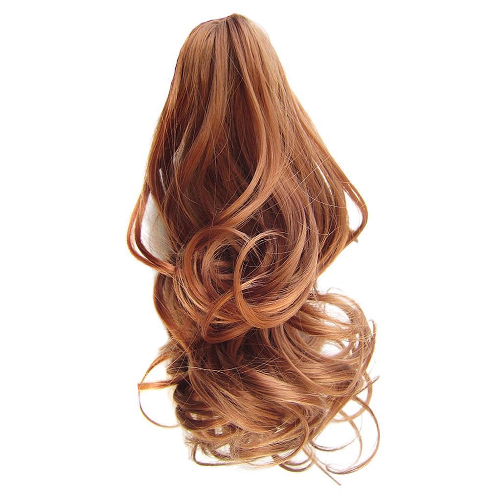 Queue-de-Cheval-Extension-Extension-avec-Pince-Rajout-Cheveux-Diverses miniature 23