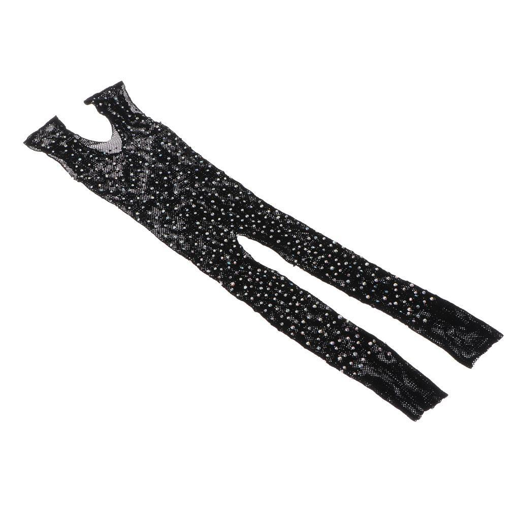 Prettyia-Hommes-Sexy-Strass-Mesh-Body-Sheer-Body-Bas-Jumpsuit-Justaucorps miniature 3