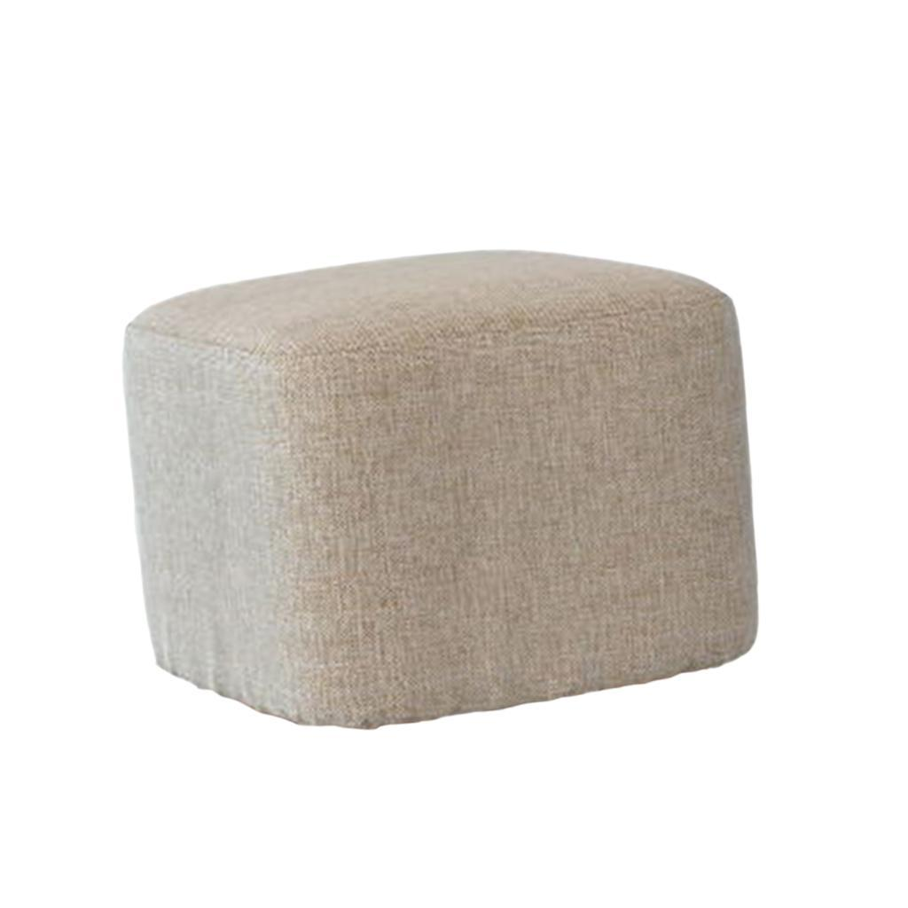 miniatura 4 - Manicotto-Protettivo-Per-Sgabelli-Quadrati-In-Legno-Accessorio-Poggiapiedi