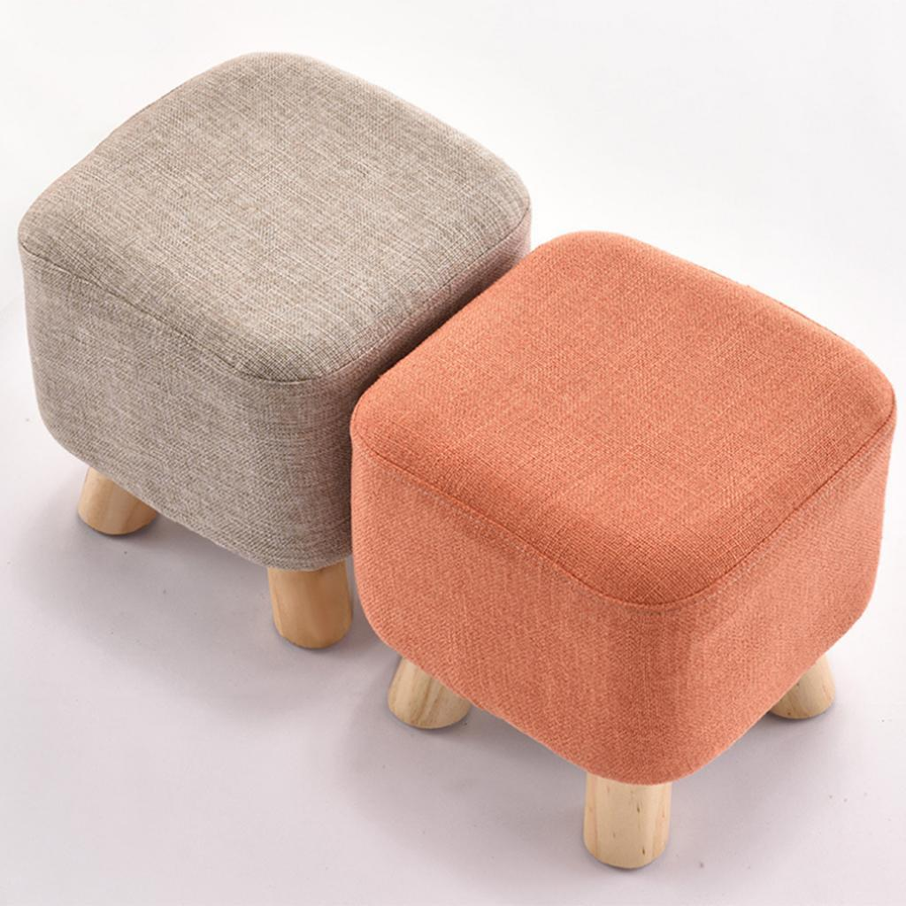 miniatura 3 - Manicotto-Protettivo-Per-Sgabelli-Quadrati-In-Legno-Accessorio-Poggiapiedi