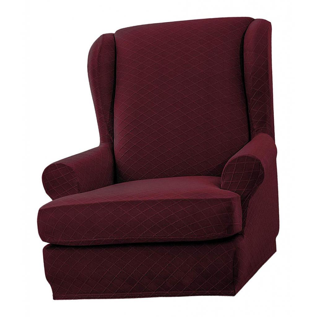 2xStretchable Sofa Armchair Covers Throw Washable Non-Slip ...