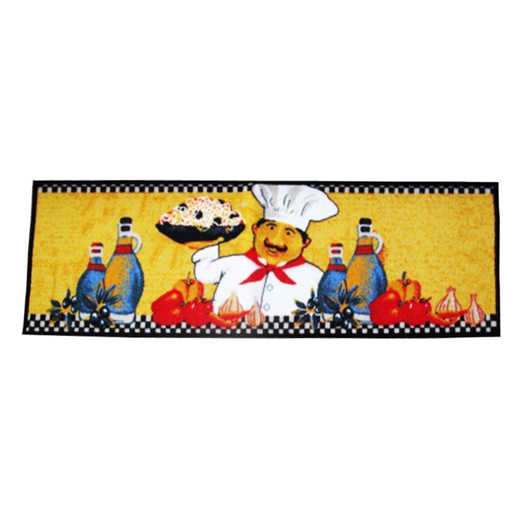 Chef-Di-Cucina-Zona-Tappeto-Soggiorno-Camera-Da-Letto-Piano-Mat-Tappeto miniatura 7