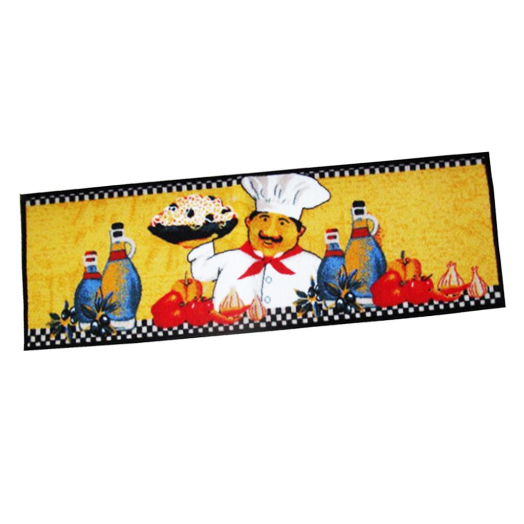 Chef-Di-Cucina-Zona-Tappeto-Soggiorno-Camera-Da-Letto-Piano-Mat-Tappeto miniatura 6