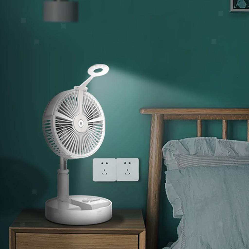 Ventilateur-USB-Telescopique-Mini-Bureau-De-Refroidissement miniature 5
