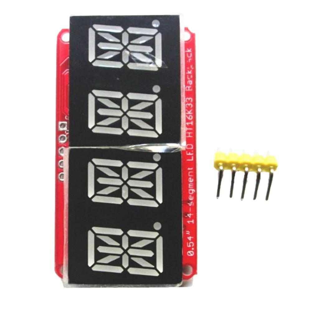 0-54-034-4-Bit-Digital-LED-Display-Module-I2C-Interface-For-14-Segment thumbnail 6