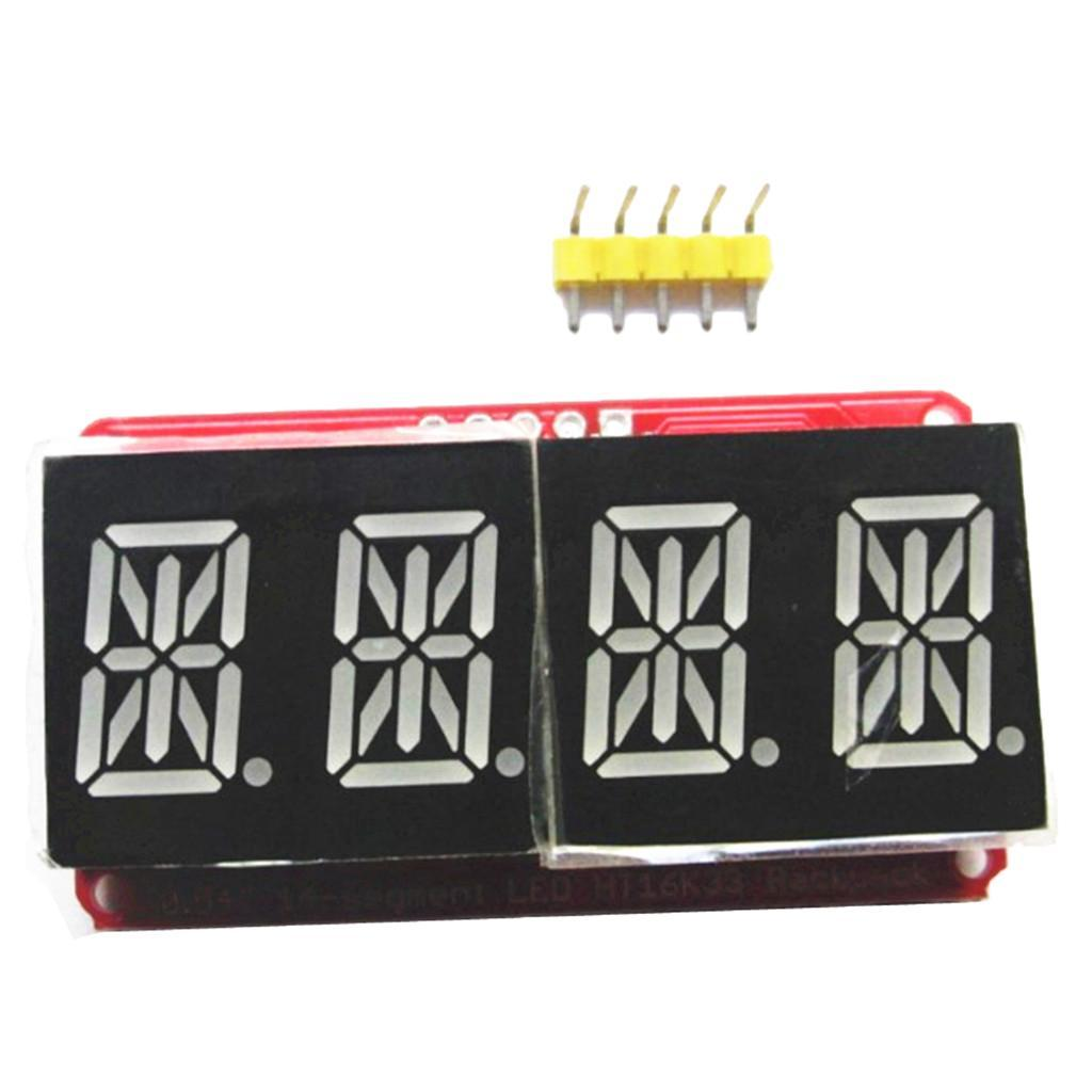 0-54-034-4-Bit-Digital-LED-Display-Module-I2C-Interface-For-14-Segment thumbnail 5