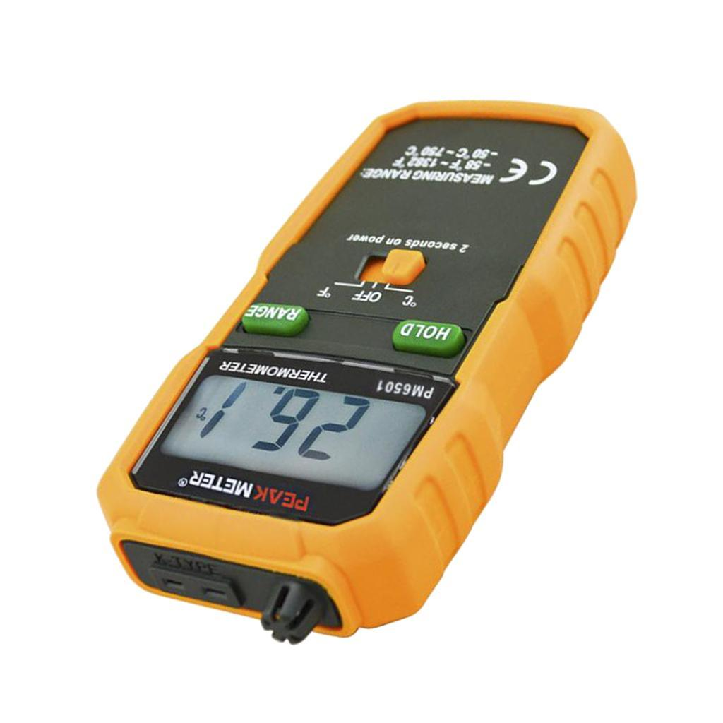 thumbnail 4 - Digital Thermocouple Thermometer LCD Backlight Temperature Meter  Wireless K