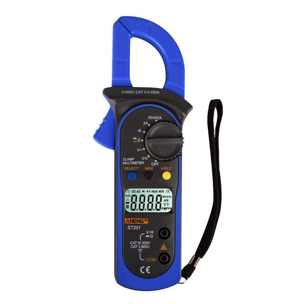 ST201-Pince-Multimetre-Numerique-Comptage-Multimetre-Manuel-amp-Automatique-de miniature 7