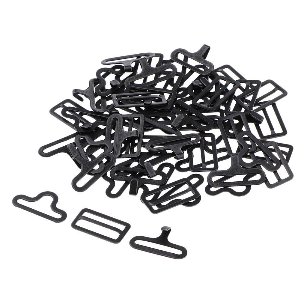20-Sets-Adjustable-Bow-Tie-Hardware-Clips-Hook-Fastener-for-Necktie-Strap miniature 3