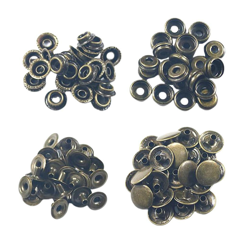 50Pack-Snap-Fasteners-Press-Stud-Button-Leather-Down-Bag-Clouses-Fixing thumbnail 20