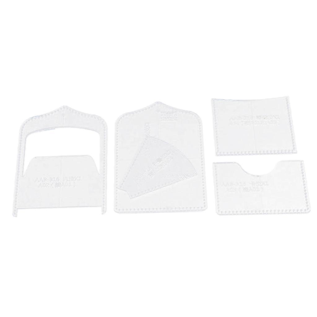 Vier-Arten-Von-DIY-Vorlage-Fuer-Mini-Tasche-Coin-Purse-Case-Lederhandwerk-Tool Indexbild 4
