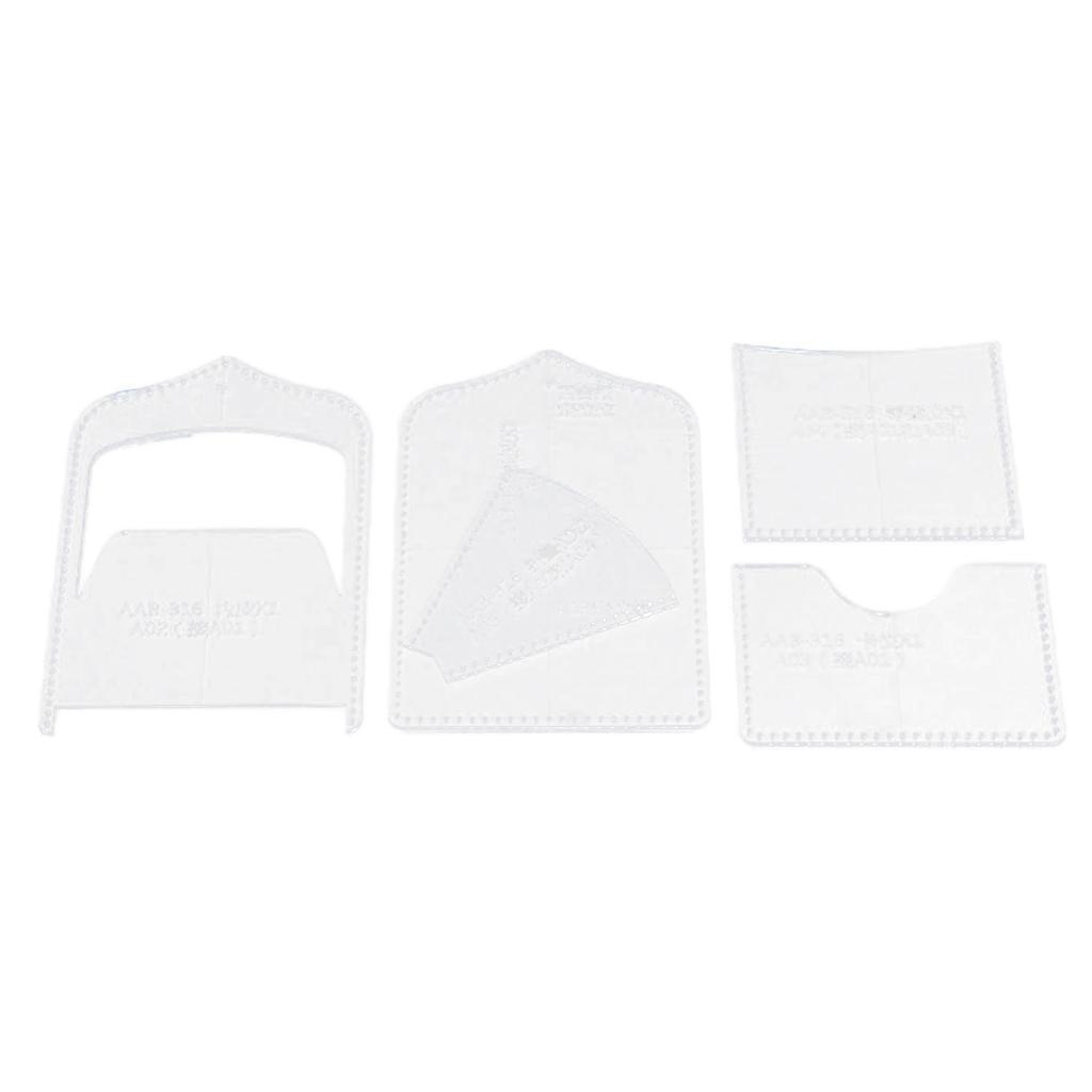 Vier-Arten-Von-DIY-Vorlage-Fuer-Mini-Tasche-Coin-Purse-Case-Lederhandwerk-Tool Indexbild 3