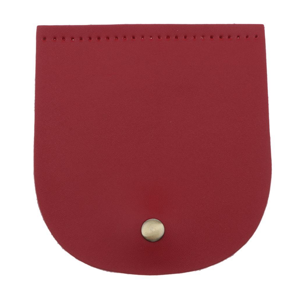 Vorgestanzte-2-lagige-PU-Lederklappe-mit-handgefertigten-Taschenzubehoer-mit Indexbild 6