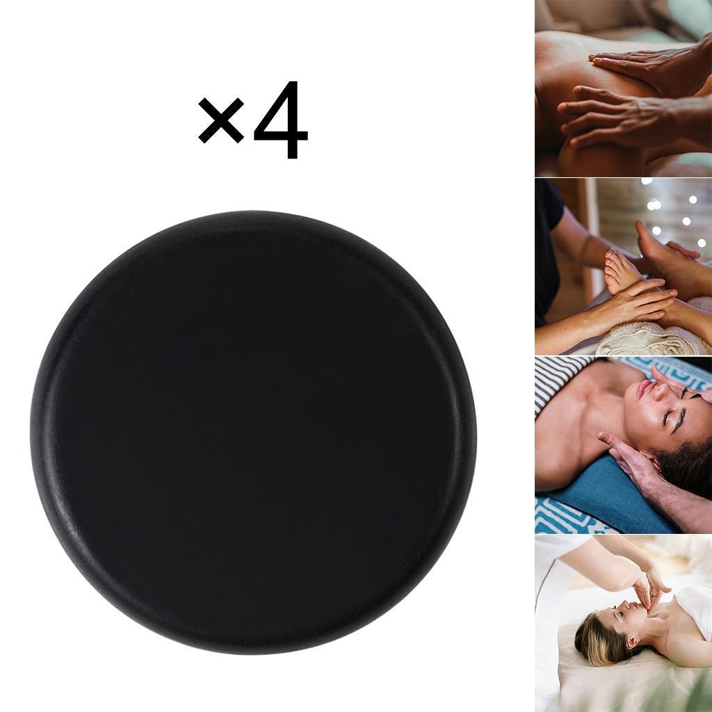 thumbnail 5 - 4 Teile/satz Schwarz Basalt Heißen Stein Massage für Spas Massage Therapie