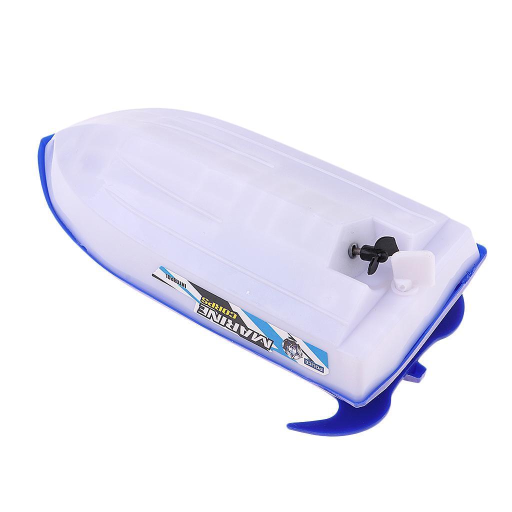 Batterien-Boot-Schwimmen-Badespielzeug-Badewanne-Spielzeug-fuer-Baby-Kinder Indexbild 5