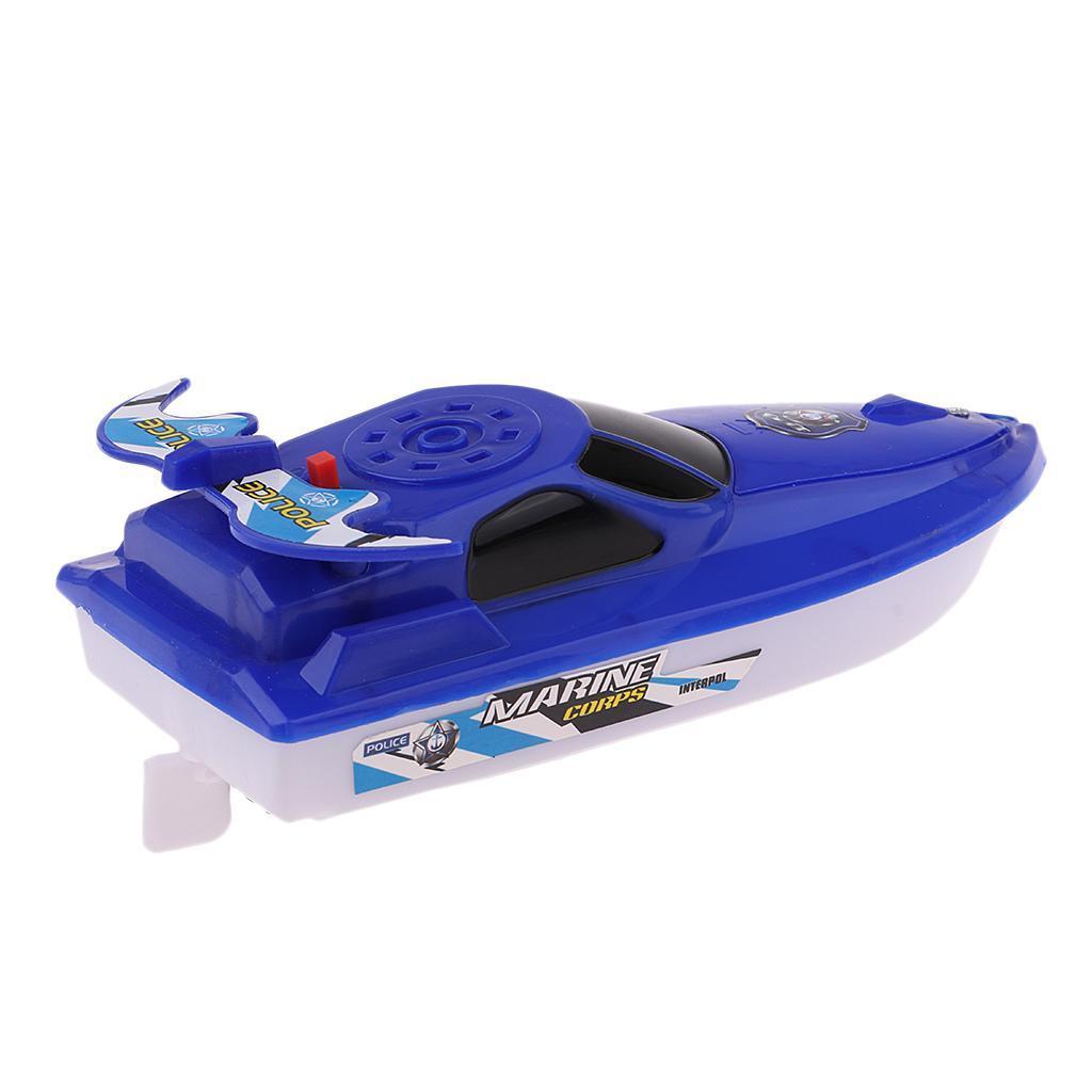 Batterien-Boot-Schwimmen-Badespielzeug-Badewanne-Spielzeug-fuer-Baby-Kinder Indexbild 3