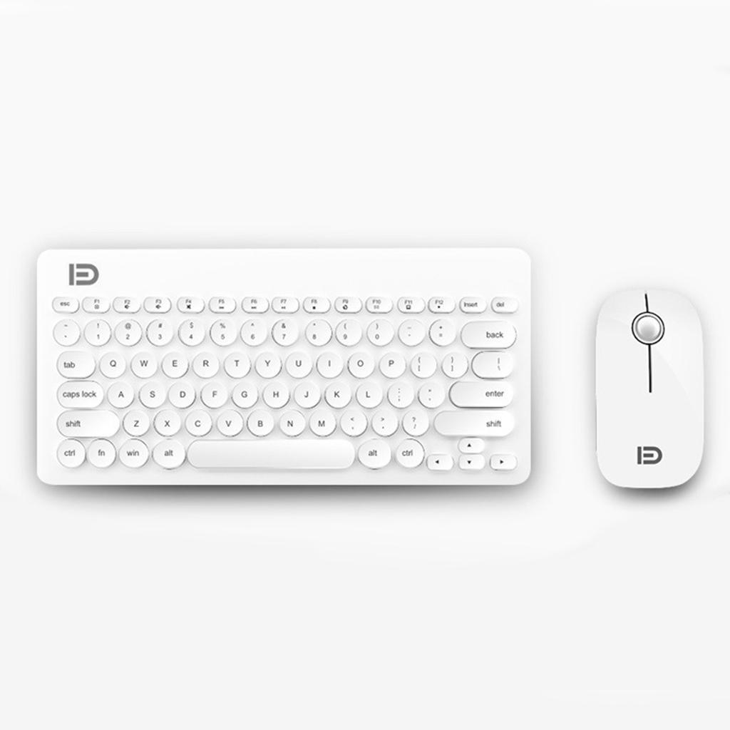 thumbnail 3 - Mini Wireless Keyboard And Mouse Set 2.4G For Apple PC Computer & 1600dpi Sensor