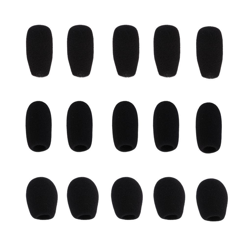 5-Pezzi-Microfono-parabrezza-spugna-per-conferenza-Gooseneck-Microfono miniatura 9
