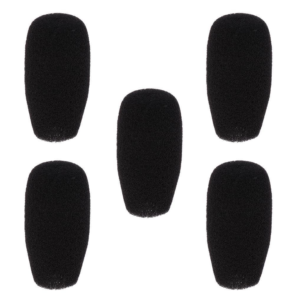 5-Pezzi-Microfono-parabrezza-spugna-per-conferenza-Gooseneck-Microfono miniatura 3