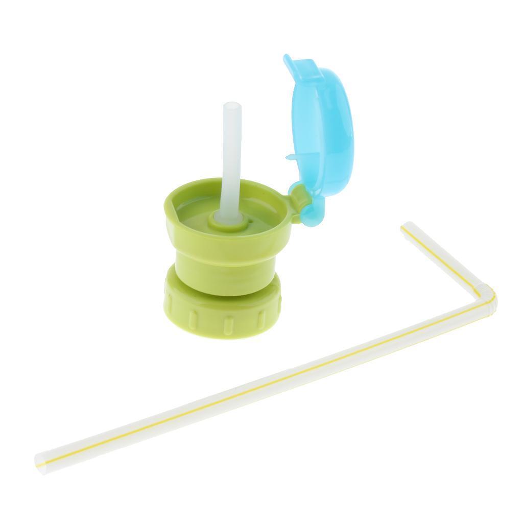 Universal-Baby-Trinkflasche-Strohhut-Easy-Portable-Hygiene-Kids-Drinking-Feeder Indexbild 3
