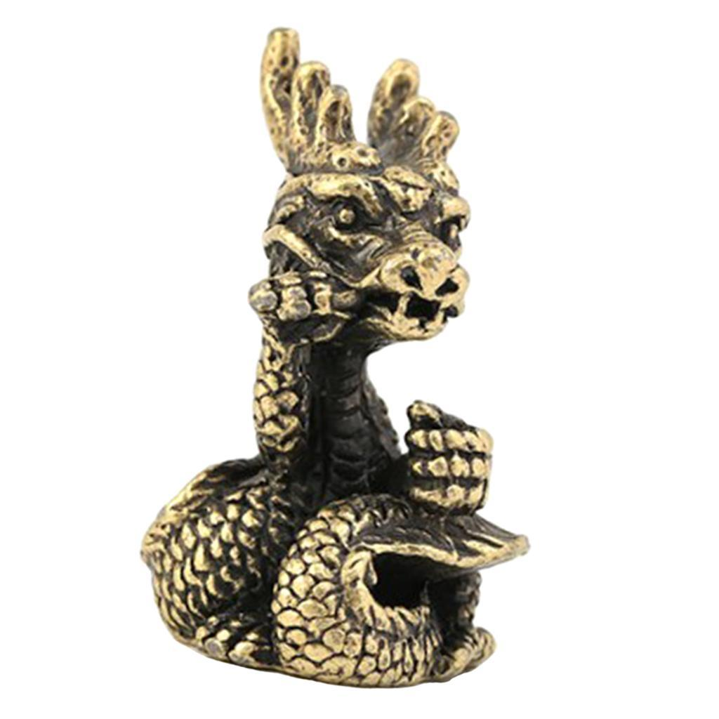 Collectible Brass Incense Burner Chinese Shengxiao Animal Statues Decor