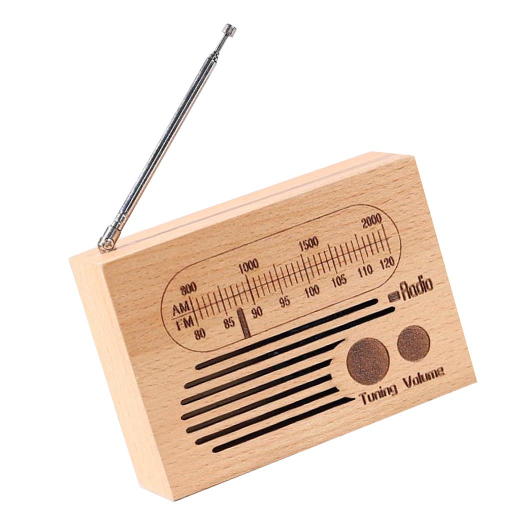 Retro-Clockwork-Music-Box-Radio-Music-Box-Shelf-Musical-Ornaments-Boys-Gift thumbnail 9