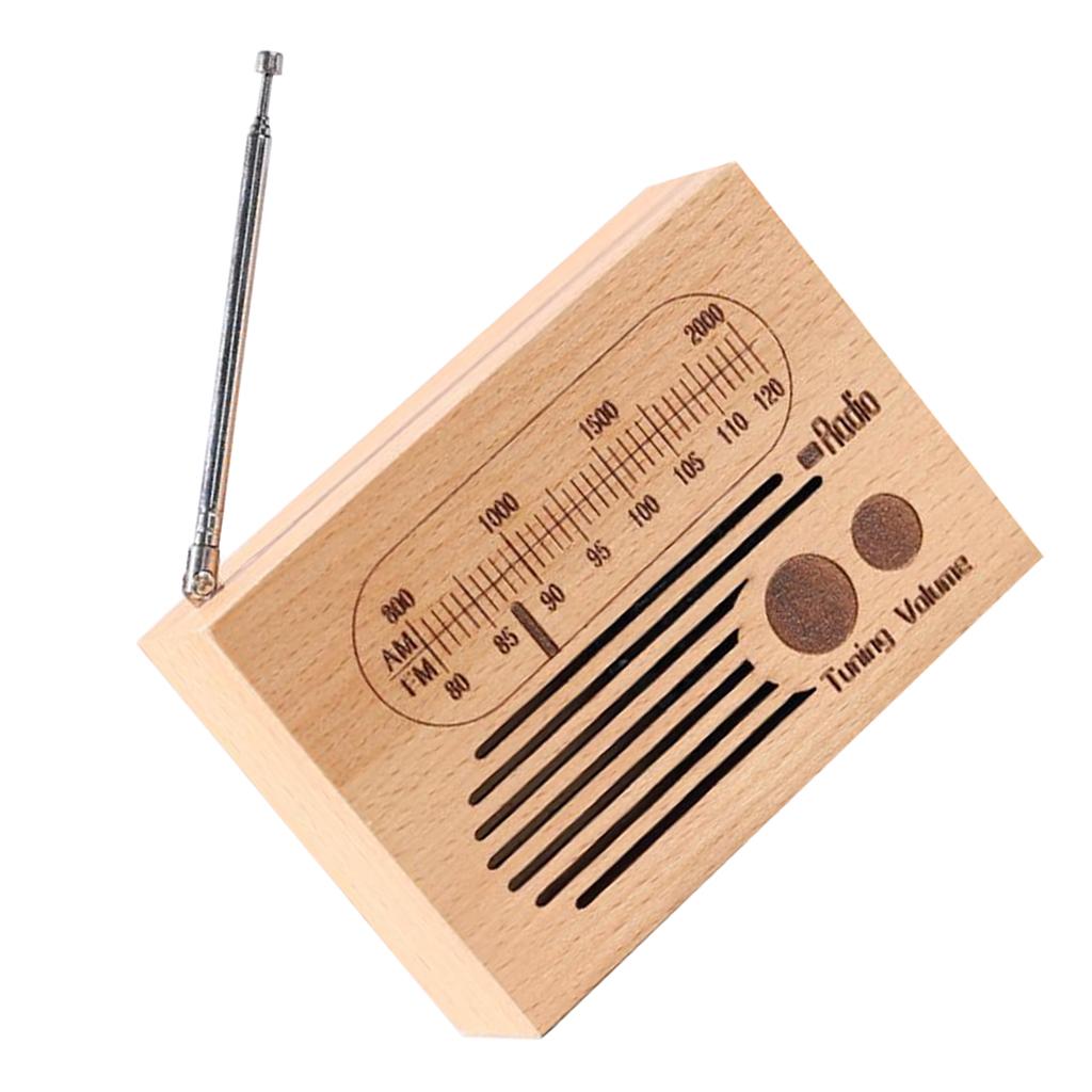Retro-Clockwork-Music-Box-Radio-Music-Box-Shelf-Musical-Ornaments-Boys-Gift thumbnail 10