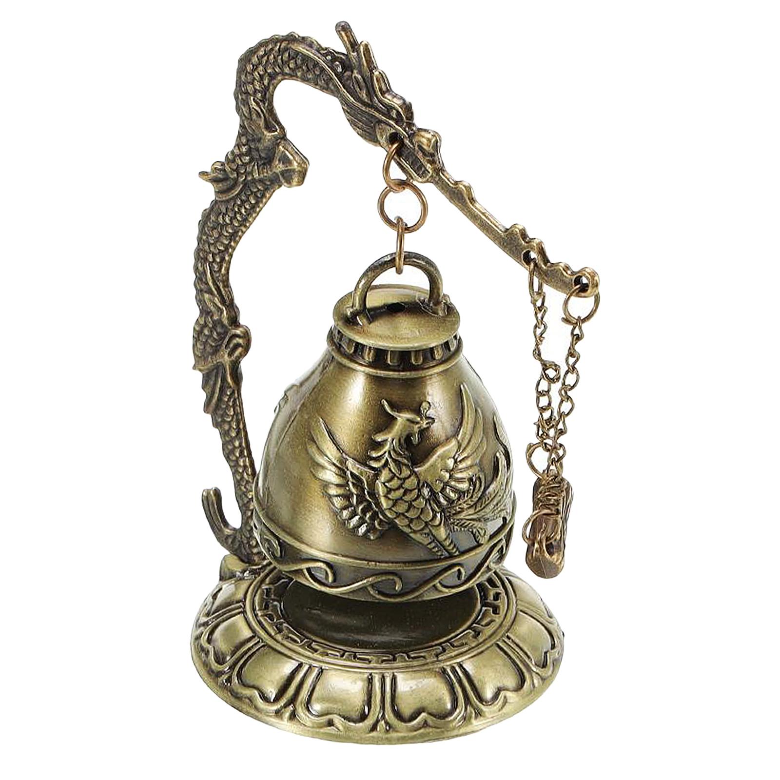 miniatura 23 - Buddha Drago Fengshui campana giocattoli tibetano per Home GIARDINO