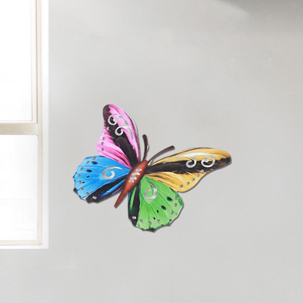 miniatura 17 - Farfalla Natura Opere D'arte Della Parete Appeso Animale Scultura per la