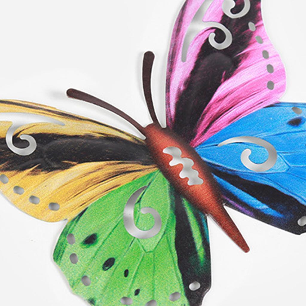 miniatura 20 - Farfalla Natura Opere D'arte Della Parete Appeso Animale Scultura per la