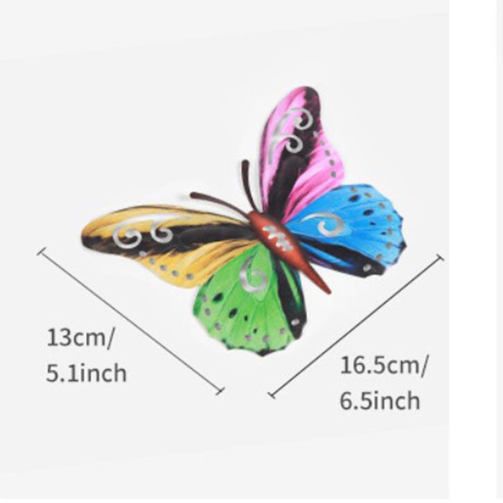 miniatura 15 - Farfalla Natura Opere D'arte Della Parete Appeso Animale Scultura per la