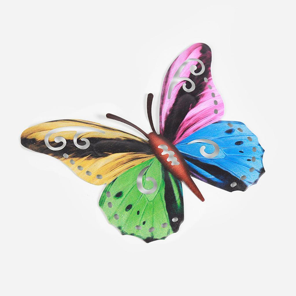 miniatura 16 - Farfalla Natura Opere D'arte Della Parete Appeso Animale Scultura per la