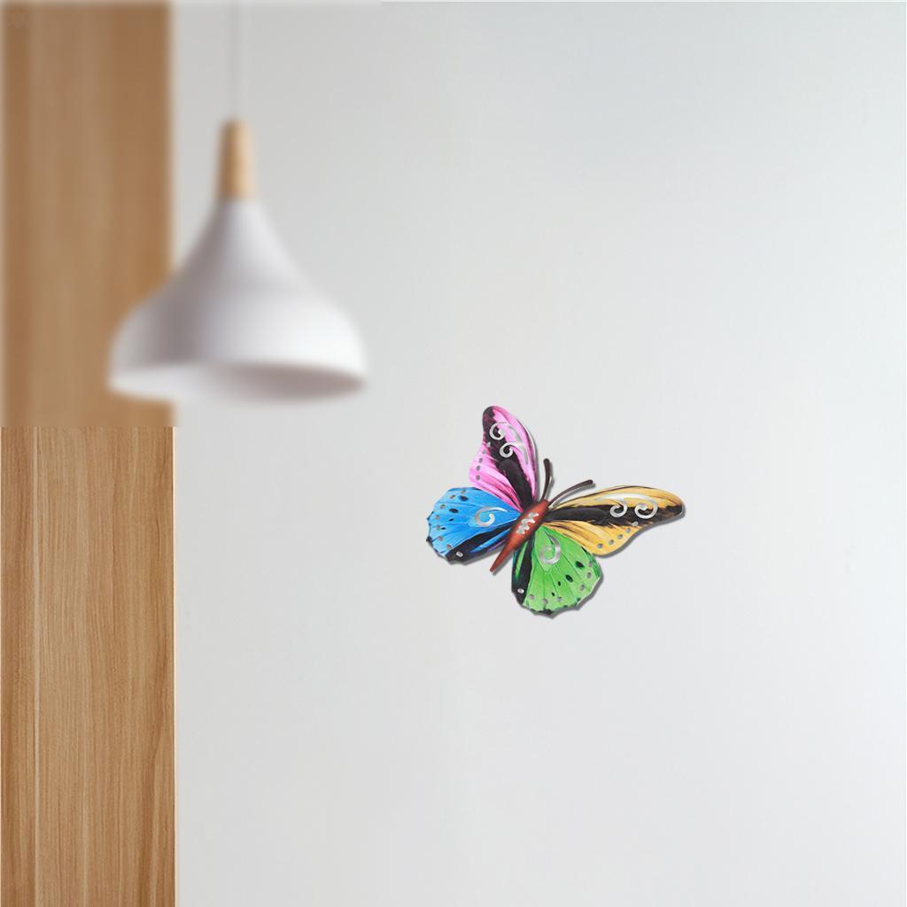 miniatura 19 - Farfalla Natura Opere D'arte Della Parete Appeso Animale Scultura per la