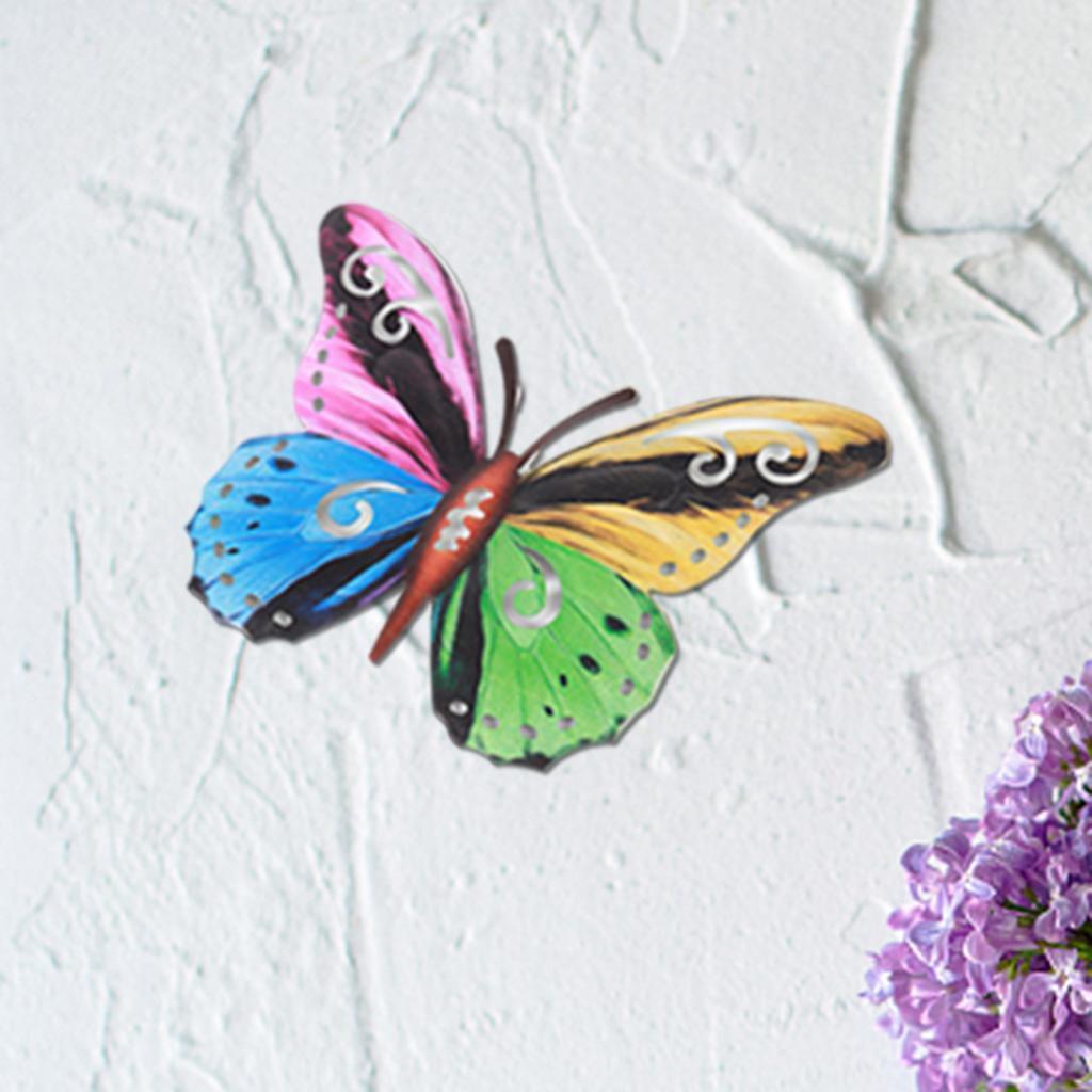 miniatura 14 - Farfalla Natura Opere D'arte Della Parete Appeso Animale Scultura per la