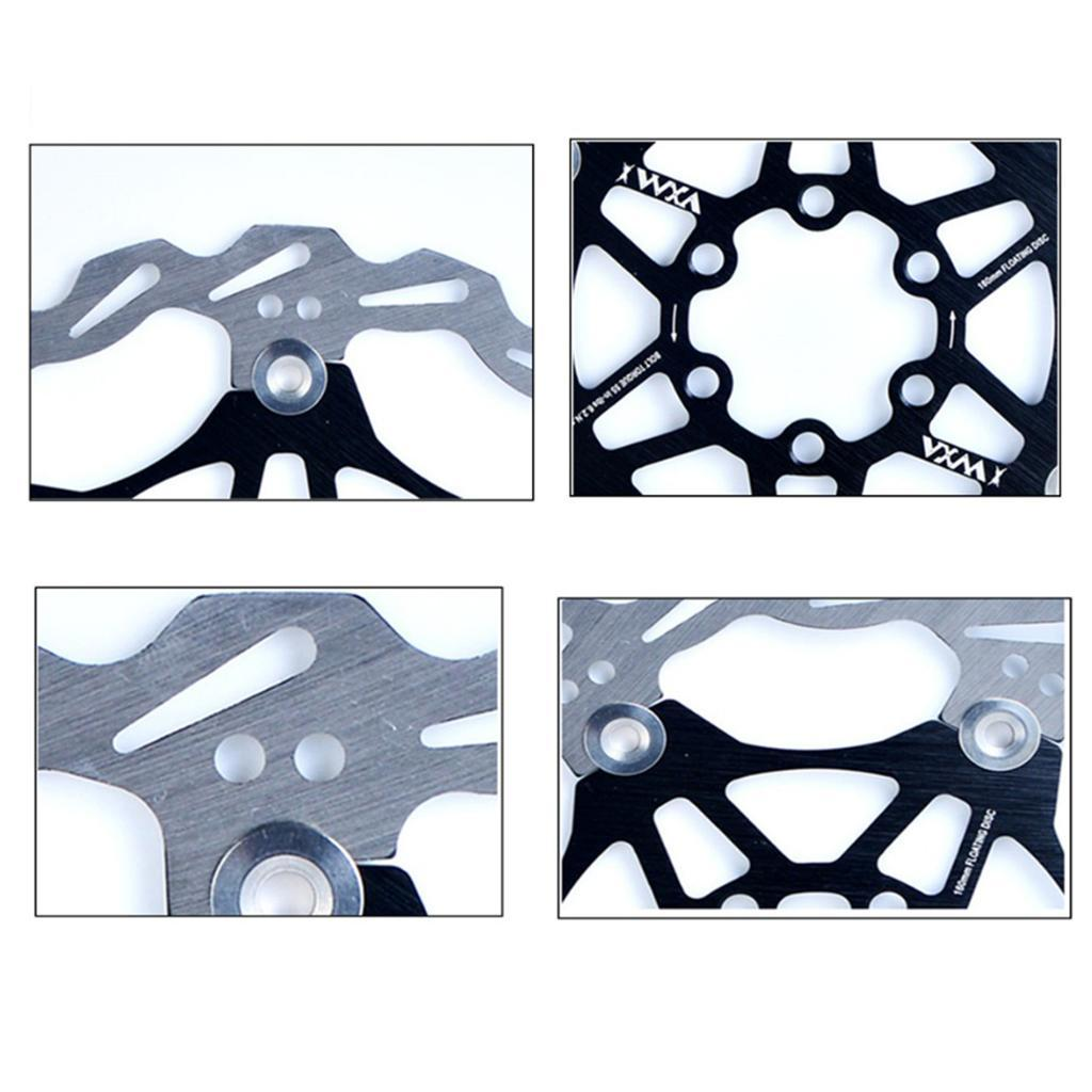 ZTTO Bicycle Brake Disc Floating Rotor MTB Gravel Road Bike 203//180//160//140mm